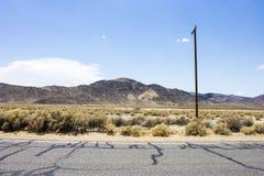 Death Valley Kalifornien Arkivfoto