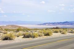 Death Valley Kalifornien Royaltyfri Fotografi