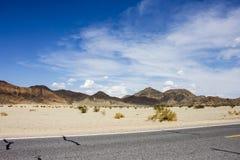Death Valley Kalifornien Royaltyfri Bild