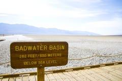 Death Valley in Kalifornien Stockfotografie