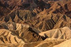Death Valley la Californie images libres de droits