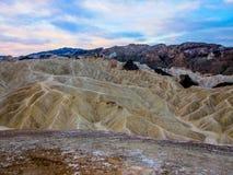 Death Valley, la Californie Photo libre de droits