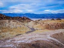 Death Valley, la Californie Photographie stock
