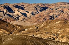 Death valley landsape view Royalty Free Stock Image