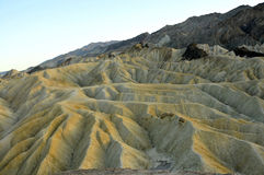 Death Valley Landscape. Vantage Point Landscape in Death Valley Desert, California Royalty Free Stock Photo