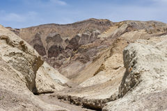 Death Valley landscape Royalty Free Stock Images