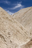 Death Valley landscape. Scenic view of Golden Canyon landscape, Death Valley, Mojave desert, California and Nevada, U.S.A Royalty Free Stock Photos