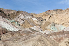 Death Valley landscape. Scenic view of rugged landscape of Death Valley, California and Nevada, U.S.A Stock Photography