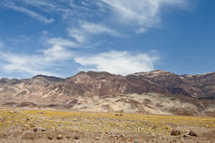 Death Valley landscape Royalty Free Stock Image