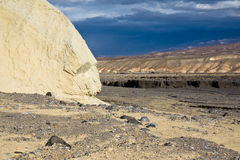 Death Valley landscape. Scenic landscape of Death Valley, California, U.S.A Royalty Free Stock Photography