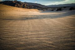 Death Valley look into desert Royalty Free Stock Images