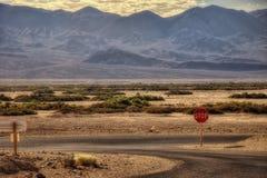 Death Valley los E.E.U.U. fotografía de archivo libre de regalías