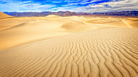 Death Valley Mesquite Flat Sand Dunes Royalty Free Stock Images