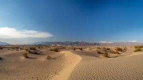 Death Valley, Mojave Desert road, California, USA: The hottest place on the planet Earth. Death Valley, Mojave Desert road, California, USA: The hottest place on royalty free stock image