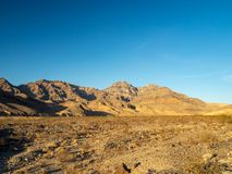 Death Valley, Mojave Desert road, California, USA: The hottest place on the planet Earth. Death Valley, Mojave Desert road, California, USA: The hottest place on stock images