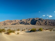 Death Valley, Mojave Desert road, California, USA: The hottest place on the planet Earth. Death Valley, Mojave Desert road, California, USA: The hottest place on royalty free stock photos