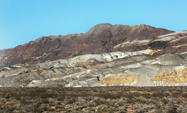Death Valley Mountain Scenic Royalty Free Stock Image