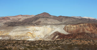 Death Valley Mountain Scenic Royalty Free Stock Photo