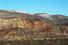 Death Valley Mountain Scenic Royalty Free Stock Photos