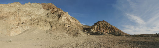 Death Valley Mountains Panorama Royalty Free Stock Photos