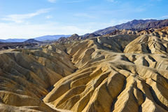 Death Valley Mountains Stock Image