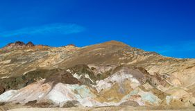 Death Valley National Park Artist Palette Stock Images