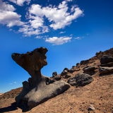 Death Valley National Park California stone formations Stock Photos
