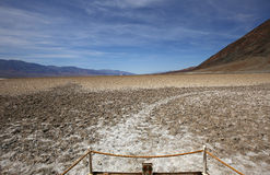 Death valley national park, California, usa Royalty Free Stock Photography