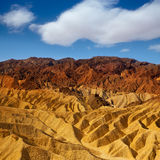Death Valley National Park California Zabriskie point Stock Image