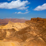 Death Valley National Park California Zabriskie point Royalty Free Stock Images