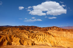 Death Valley National Park California Zabriskie point Stock Photography