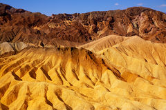 Death Valley National Park California Zabriskie point Stock Images