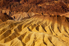 Death Valley National Park California Zabriskie point Royalty Free Stock Photography