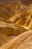 Death Valley National Park California Zabriskie point Stock Photos