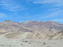 Death Valley National Park. Deathvalleynationalpark, desert, vacation, california, , nature, geology, colorful royalty free stock photography