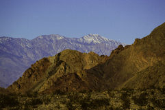 Death Valley National Park Mountains Royalty Free Stock Images