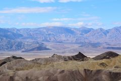 Death Valley - Zabriskie Point royalty free stock photo