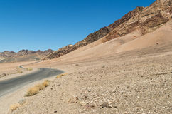 Death Valley National Park. To the end of the world and beyond Stock Photography
