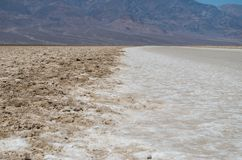 Death Valley National Park. To the end of the world and over Royalty Free Stock Image