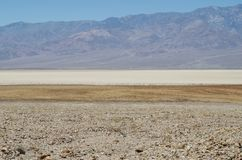 Death Valley National Park. To the end of the world and over Royalty Free Stock Photography