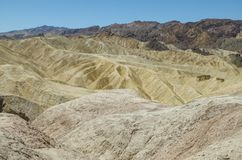 Death Valley National Park. View of Death Valley National Park Stock Photos