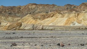Death Valley National Park. View at the Death Valley National Park Stock Image