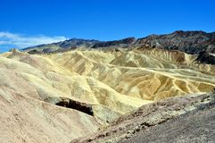 Death Valley National park - Zabriskie point Stock Photography