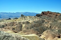 Death Valley National Park - Zabriskie Point Stock Photo