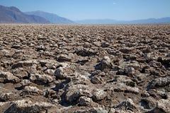Death Valley nationalpark Arkivbilder