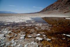 Death Valley nationalpark Arkivfoton