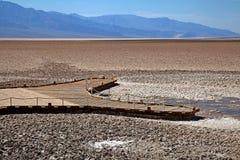 Death Valley nationalpark Arkivbild