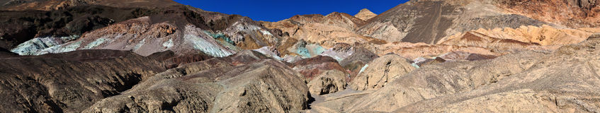 Death Valley nationalpark Royaltyfri Bild