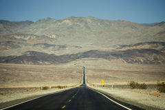 Death Valley nationalpark, Kalifornien Arkivfoton