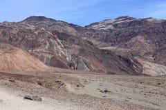 Death Valley nationalpark, Kalifornien, USA Royaltyfria Foton